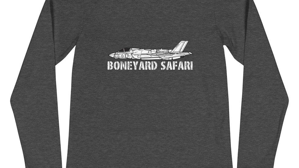 Boneyard Safari F-35B Unisex Long Sleeve Tee