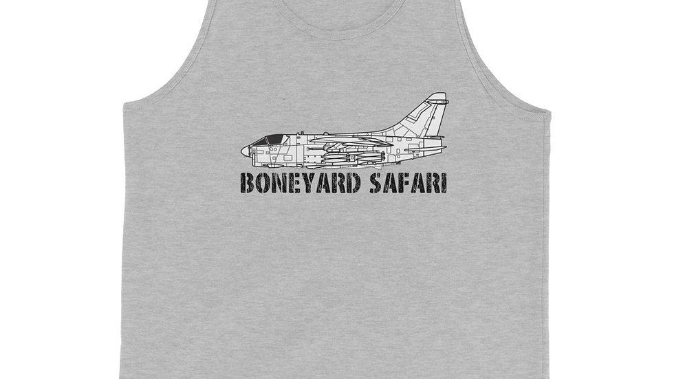 Boneyard Safari A-7 Unisex Tank Top