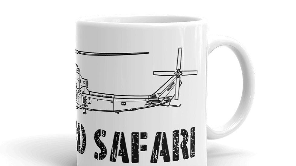 Boneyard Safari AH-1Z coffee mug