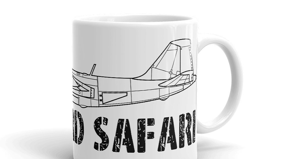 Boneyard Safari B-57B Mug
