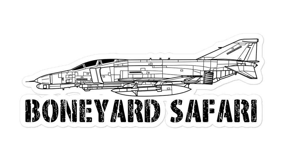 Boneyard Safari F-4G sticker