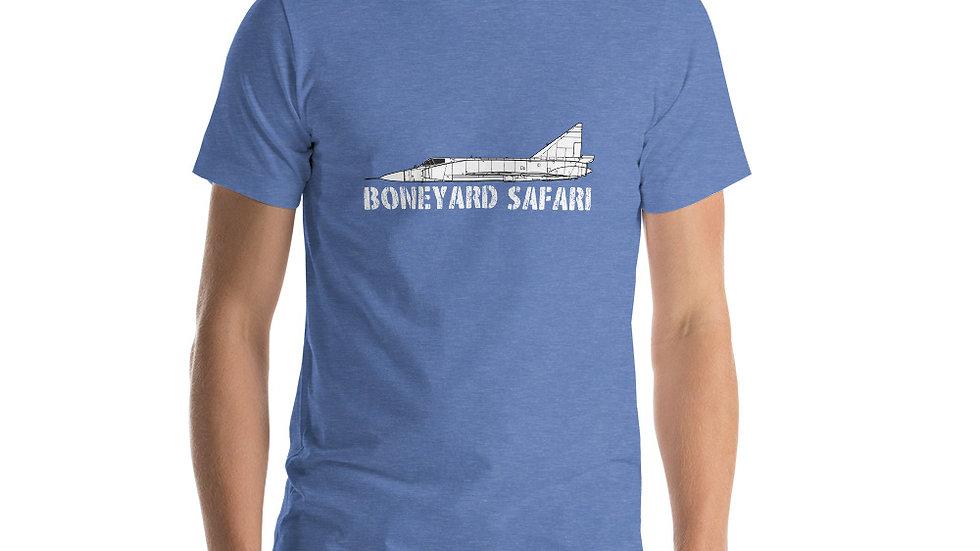 Boneyard Safari F-102 Short-Sleeve Unisex T-Shirt