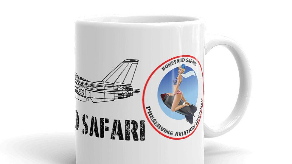 Boneyard Safari VF-31 F-14 coffee mug