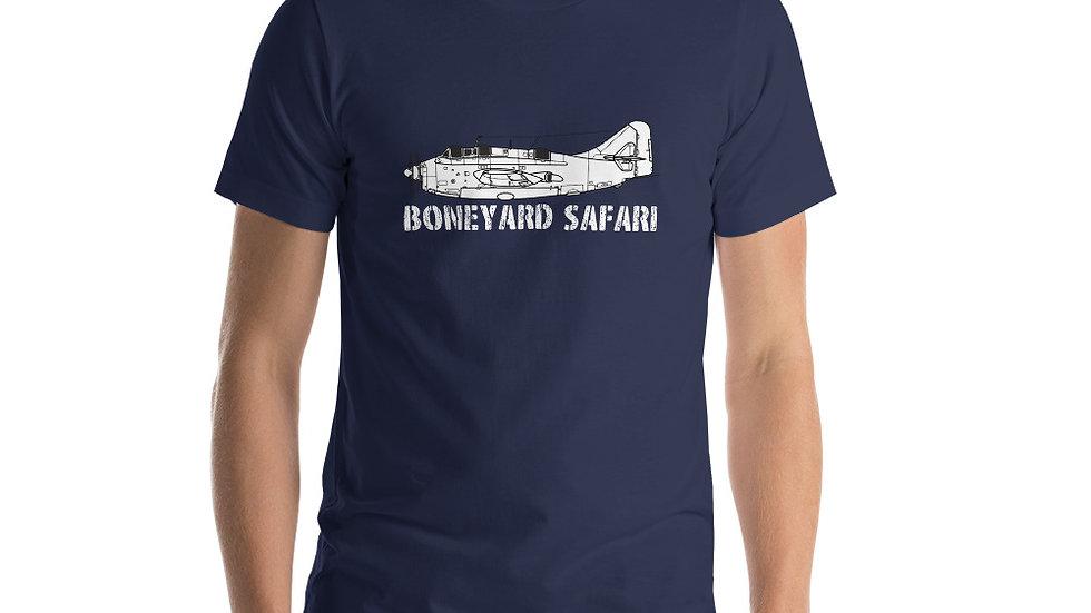 Boneyard Safari Fairey Gannet ASW Short-Sleeve Unisex T-Shirt