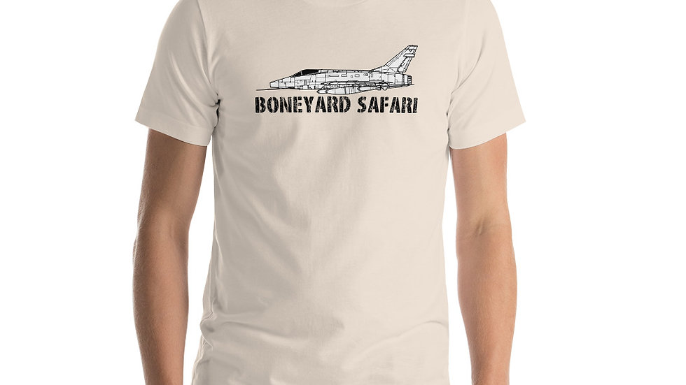 Boneyard Safari F-100D Short-Sleeve Unisex T-Shirt