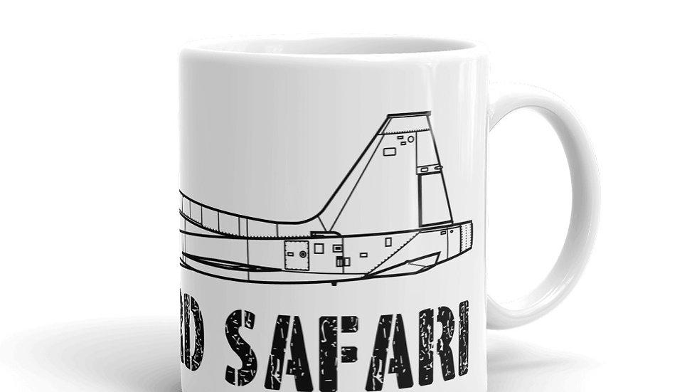 Boneyard Safari T-38 coffee mug