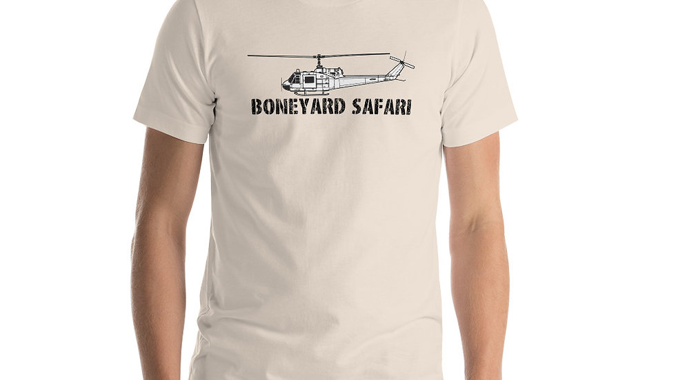 Boneyard Safari UH-1B Short-Sleeve Unisex T-Shirt