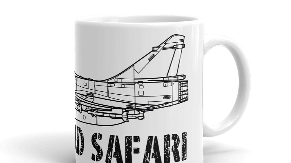 Boneyard Safari Mirage 2000 Mug