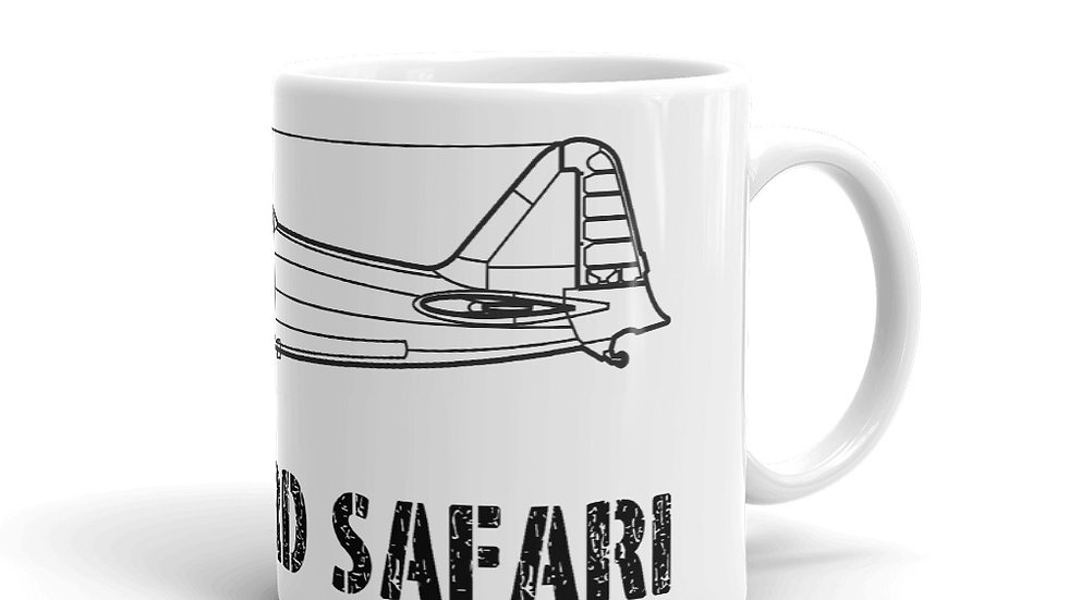 Boneyard Safari A5M Zero Coffee Mug