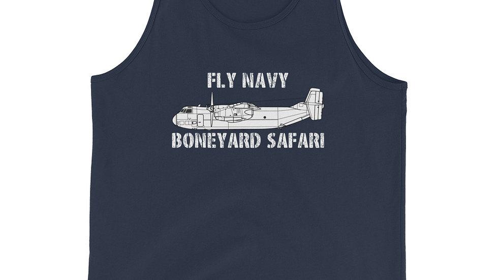 Boneyard Safari Fly C-2 Unisex Tank Top