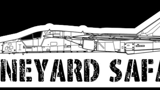 F-111 Boneyard Safari Illustration Sticker
