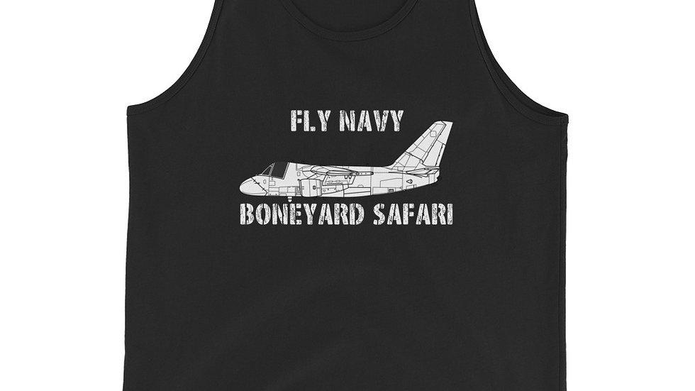 Boneyard Safari Fly Navy S-3 Unisex Tank Top