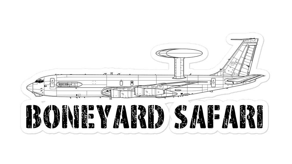 Boneyard Safari E-3A Sticker