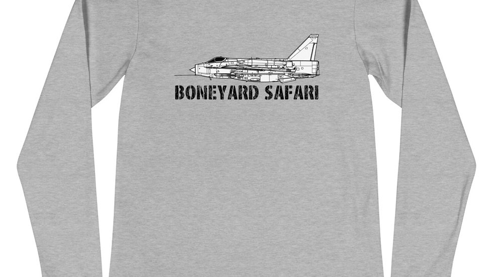 Boneyard Safari Lightning F.Mk 6 Unisex Long Sleeve Tee