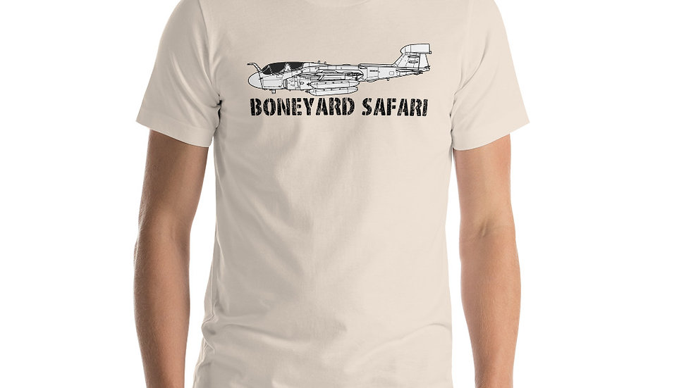 Boneyard Safari EA-6B Short-Sleeve Unisex T-Shirt