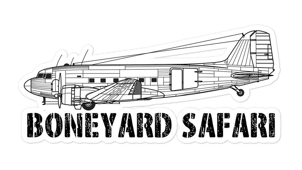 Boneyard Safari C-47 sticker