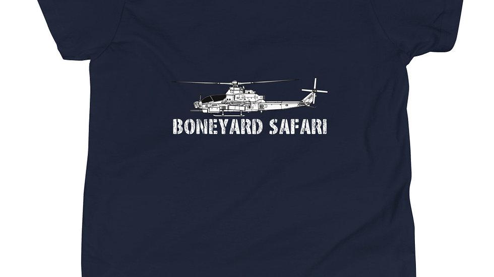 Boneyard Safari AH-1Z Youth Short Sleeve T-Shirt