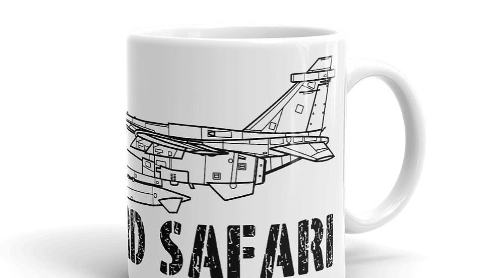 Boneyard Safari SEPECAT Jaguar Coffee Mug