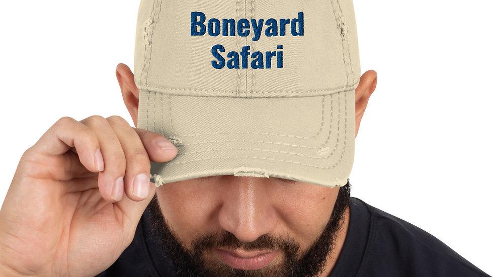Boneyard Safari Distressed Hat (Tan)