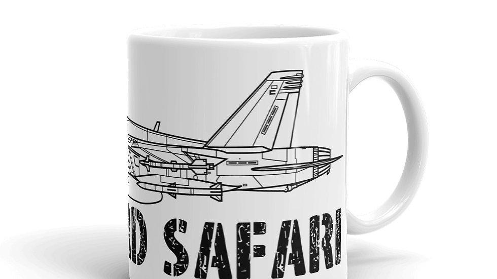 Boneyard Safari F-18E Coffee Mug