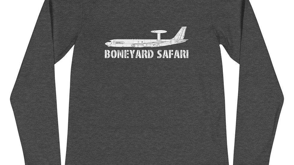 Boneyard Safari E-3A Unisex Long Sleeve Tee