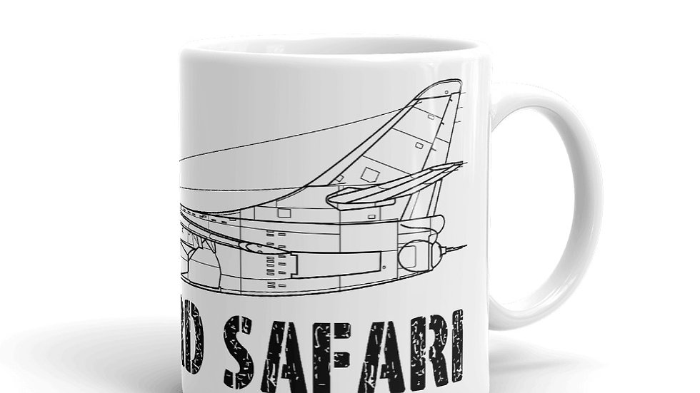 Boneyard Safari A-3 Coffee Mug