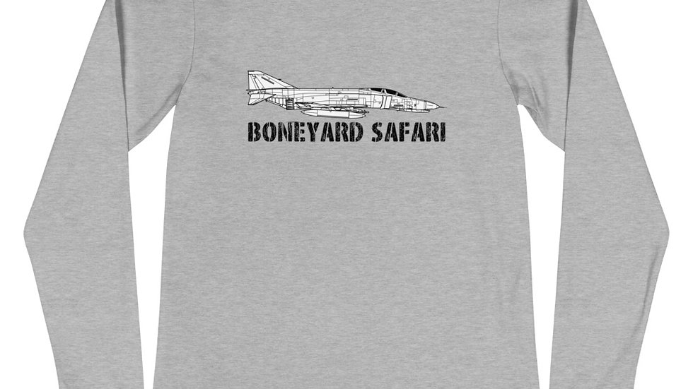 Boneyard Safari F-4E Unisex Long Sleeve Tee