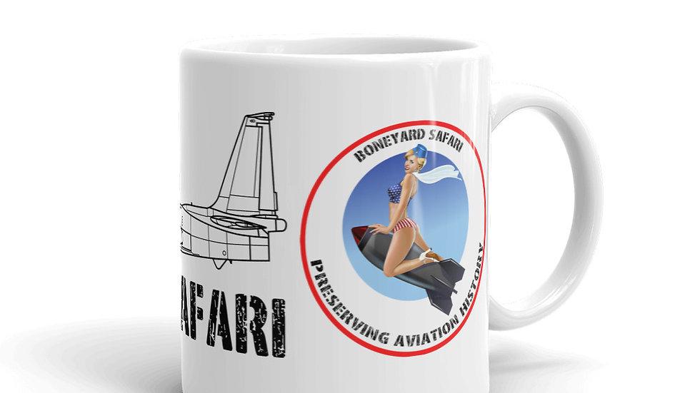 Boneyard Safari U-2R Dragon Lady coffee mug