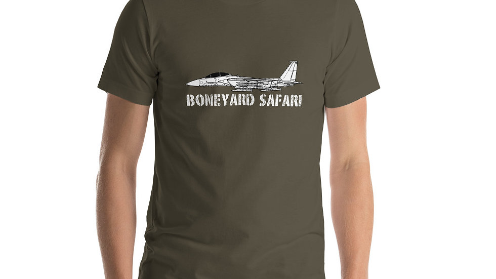 Boneyard Safari F-15EX Eagle II Short-Sleeve Unisex T-Shirt