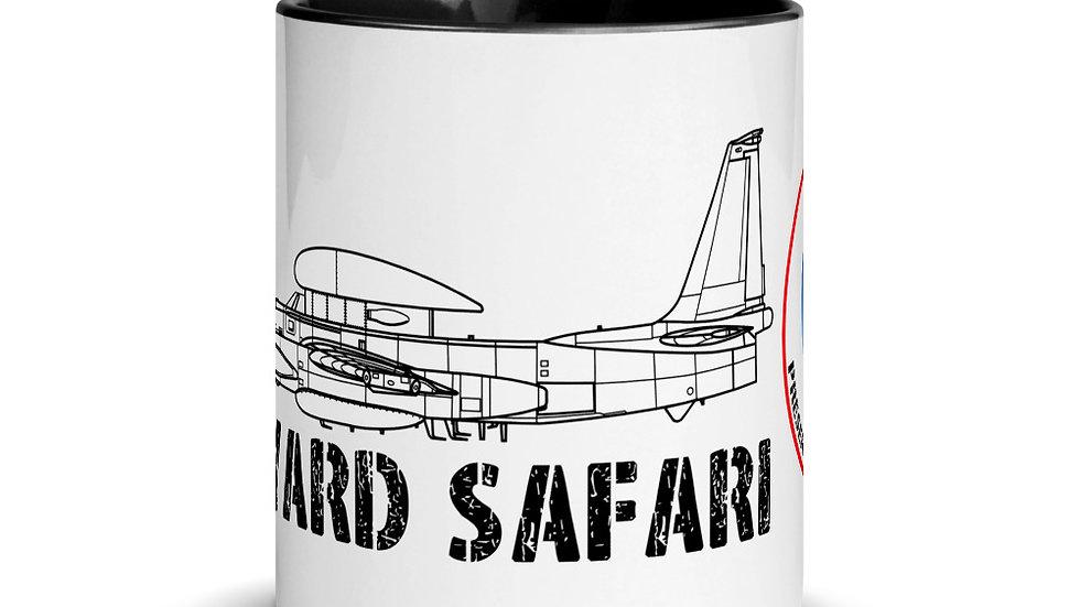 Boneyard Safari U-2R Dragon Lady coffee mug with color inside