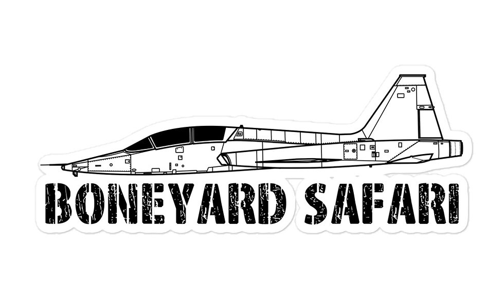 Boneyard Safari T-38 sticker