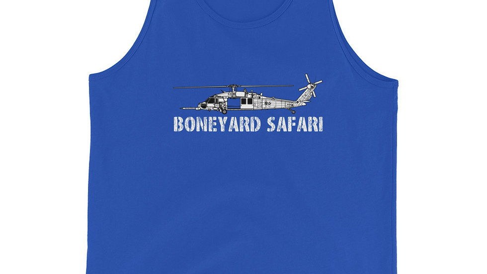 Boneyard Safari HH-60G Unisex Tank Top