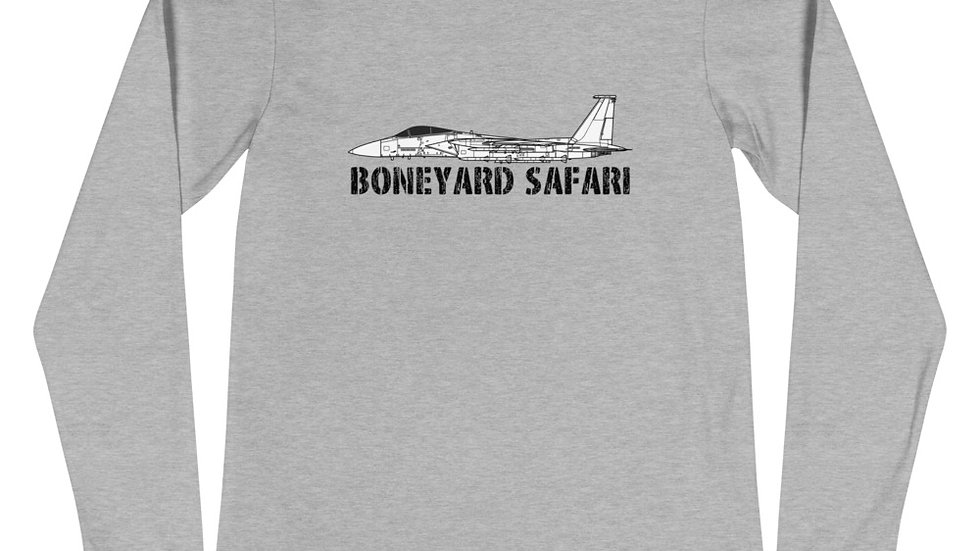 Boneyard Safari F-15C Unisex Long Sleeve Tee