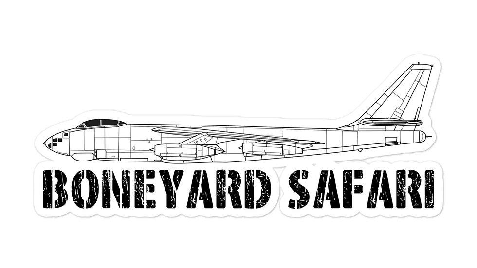 Boneyard Safari B-47 Sticker