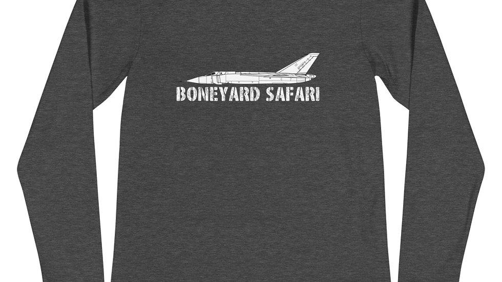 Boneyard Safari Avro Canada CF-105 ARROW Unisex Long Sleeve Tee