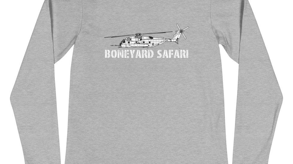 Boneyard Safari CH-53E Unisex Long Sleeve Tee