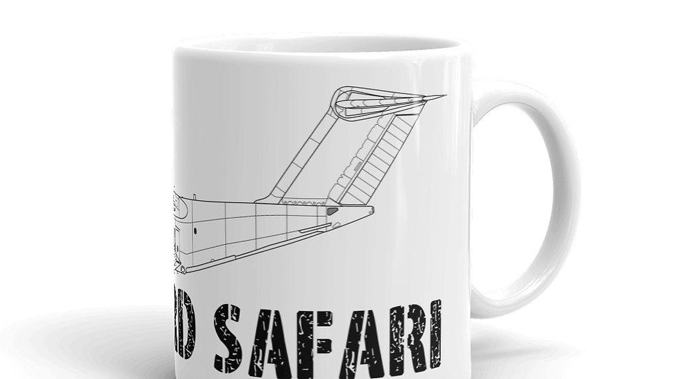 Boneyard Safari A400M coffee mug