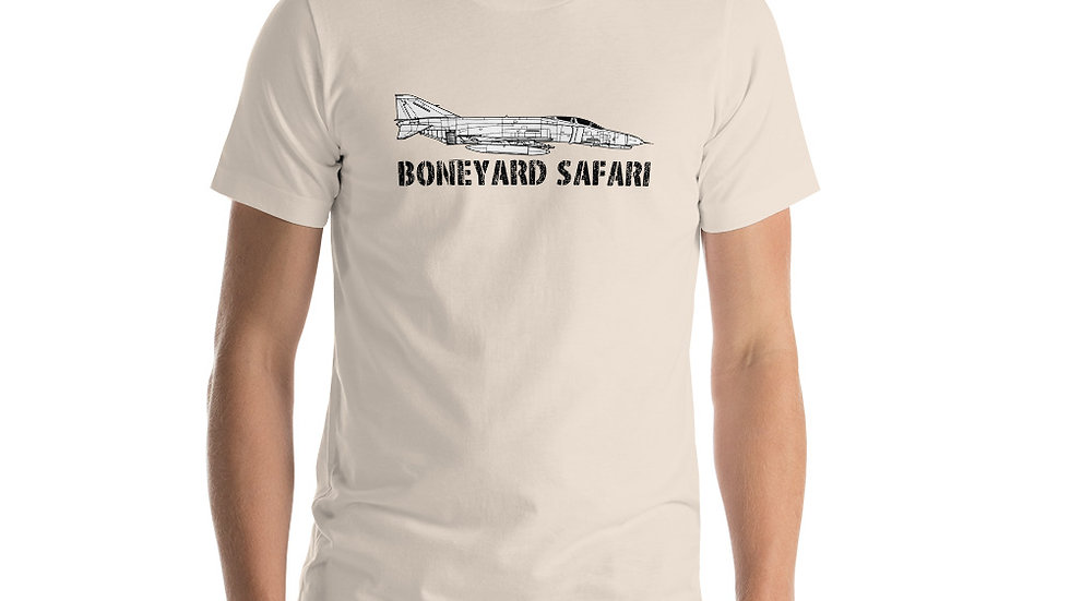 Boneyard Safari F-4E Short-Sleeve Unisex T-Shirt