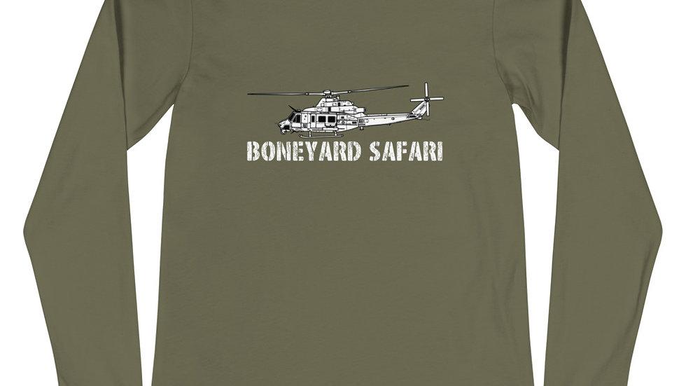 Boneyard Safari UH-1Y Unisex Long Sleeve Tee