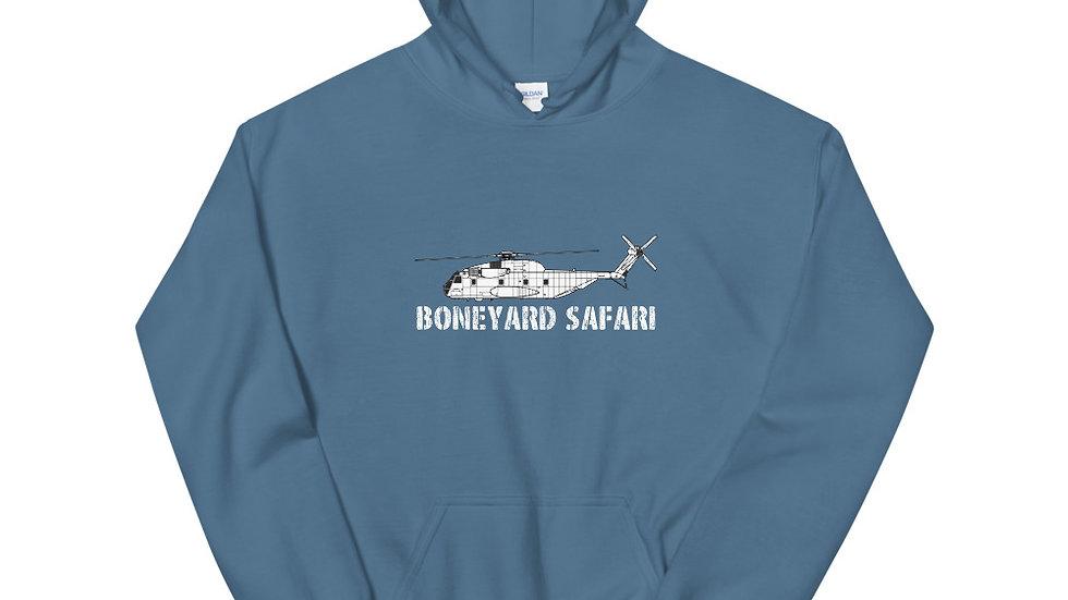 Boneyard Safari CH-53A Unisex Hoodie