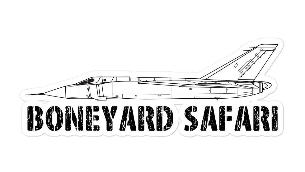 Boneyard Safari CF-105 sticker
