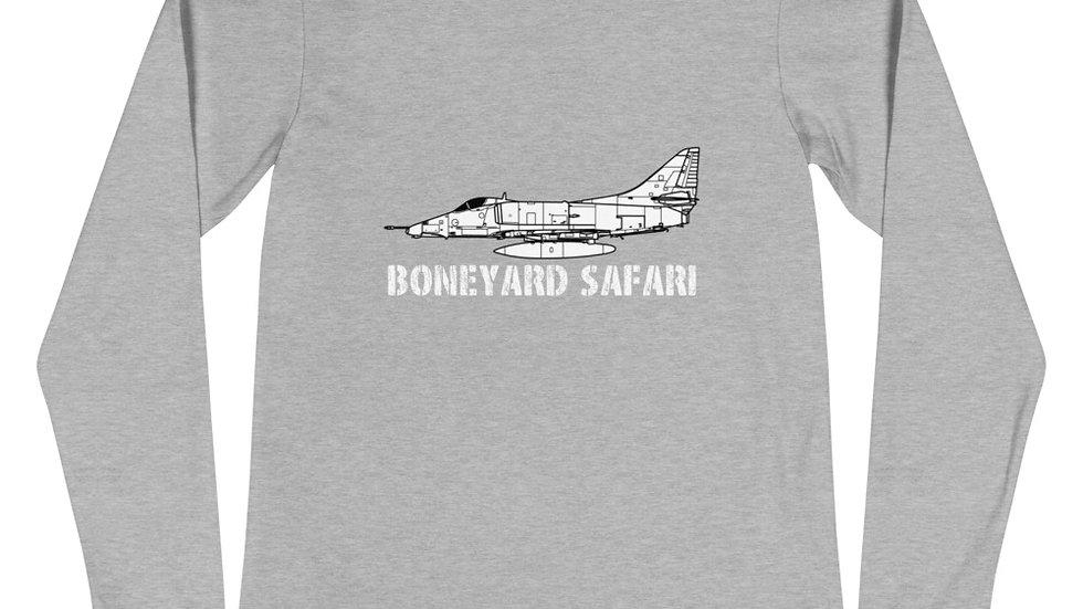 Boneyard Safari A-4E Unisex Long Sleeve Tee