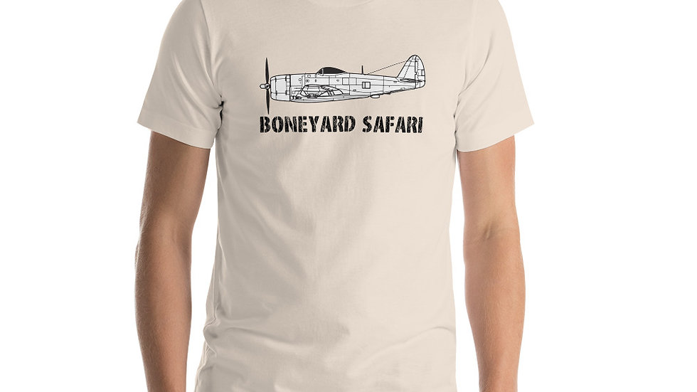 Boneyard Safari P-47N Short-Sleeve Unisex T-Shirt