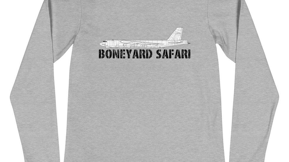 Boneyard Safari B-52G Unisex Long Sleeve Tee