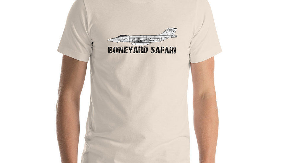 Boneyard Safari F-107A Short-Sleeve Unisex T-Shirt