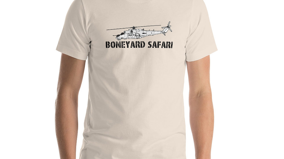 Boneyard Safari Mi-24 Short-Sleeve Unisex T-Shirt