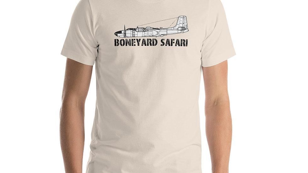 Boneyard Safari A-26 Short-Sleeve Unisex T-Shirt