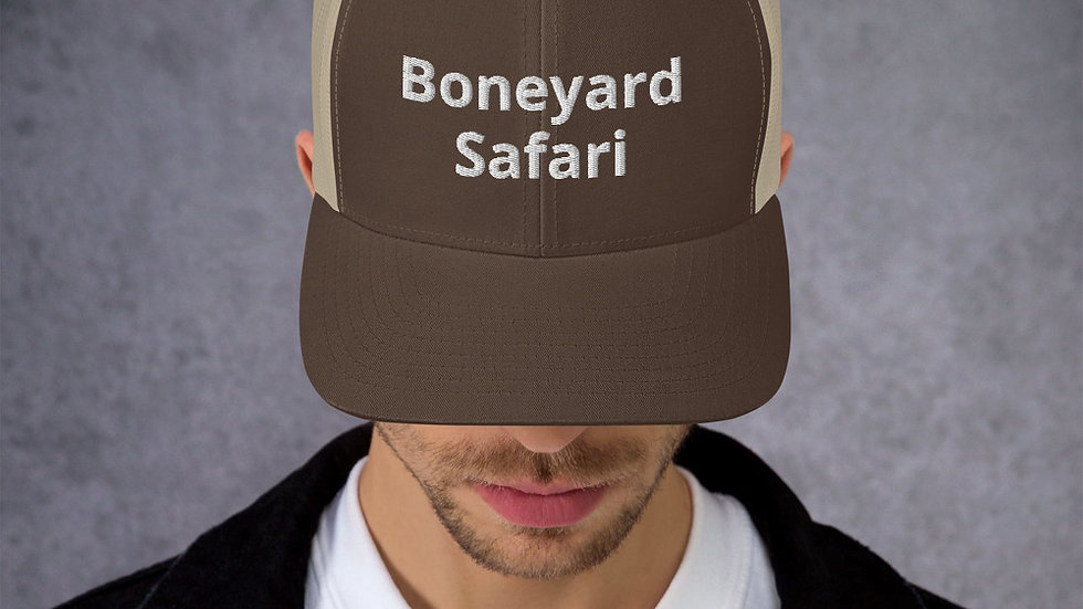 Boneyard Safari Trucker Cap