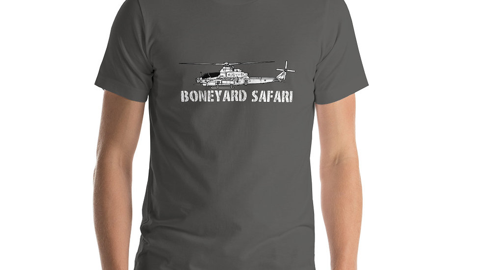 Boneyard Safari AH-1Z Short-Sleeve Unisex T-Shirt