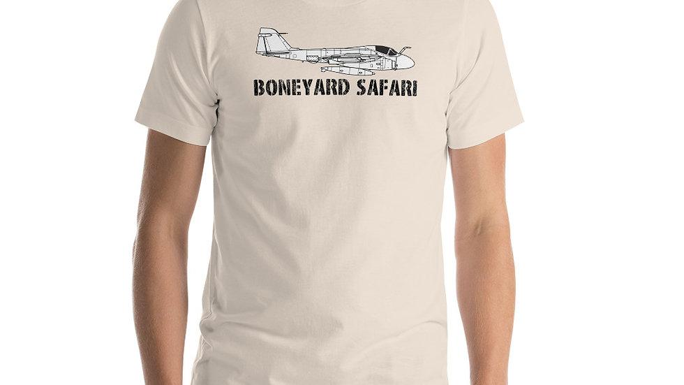 Boneyard Safari A-6 Short-Sleeve Unisex T-Shirt